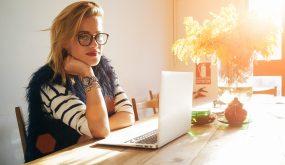 Female startup member