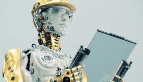 Deloitte UK AI robot