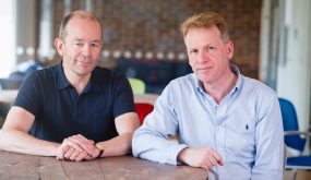 Graphcore founders Nigel Toon CEO (right) & Simon Knowles CTO (left)