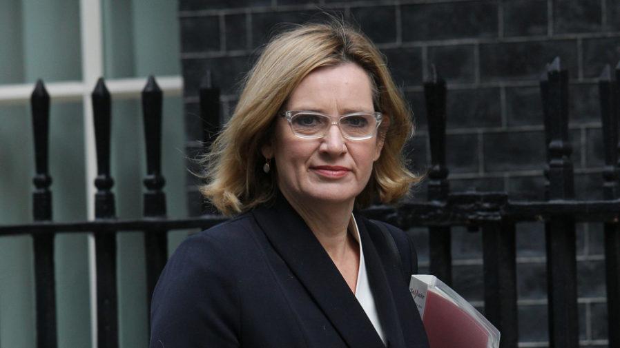 Amber Rudd resigns as British home secretary - YouTube