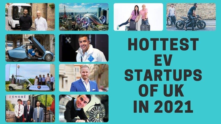 EV Startups in UK