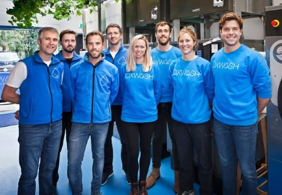 Oxwash  - oxwash - UK tech startups reinventing traditional laundry space with on-demand services