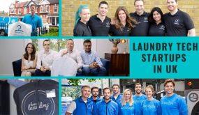Laundry tech startups UK