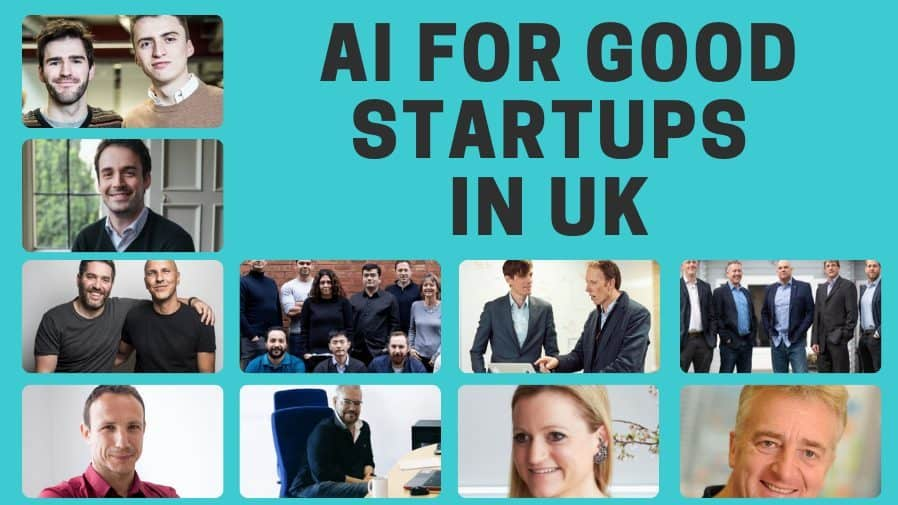 AI for Good startups in UK