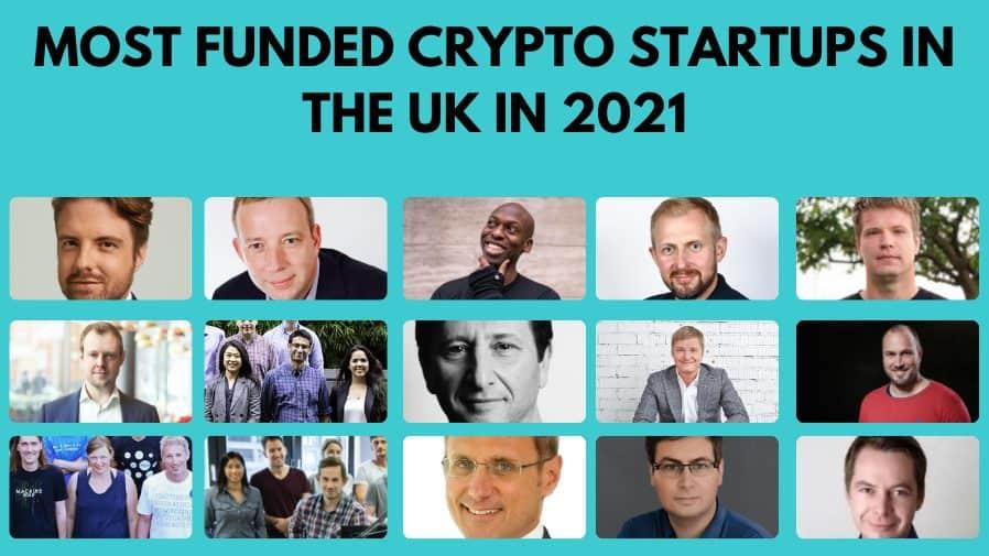 Crypto Startups in UK.