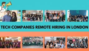 London tech companies hiring now