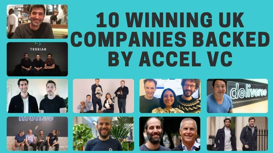 10 winning UK companies backed by Accel VC