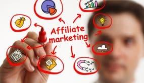 affiliate marketer