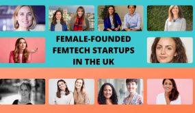 Female-founded femtech startups in the UK